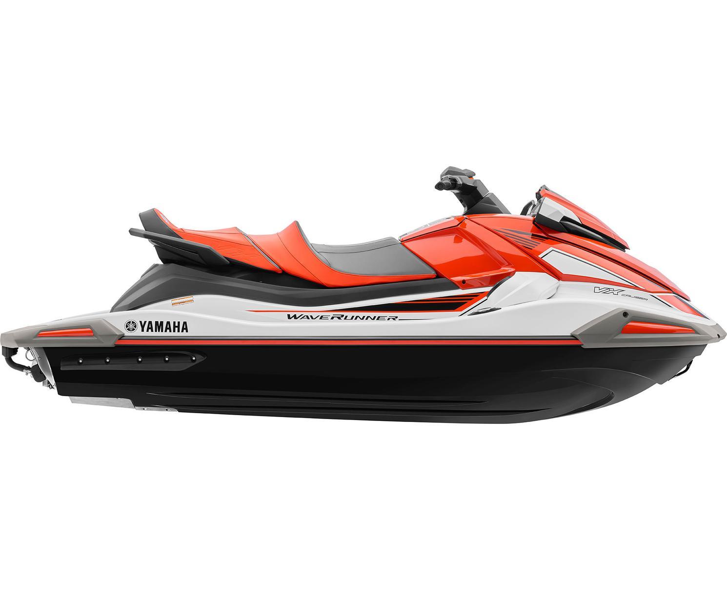 Yamaha VX CRUISER Blanc/Lave Néon 2021