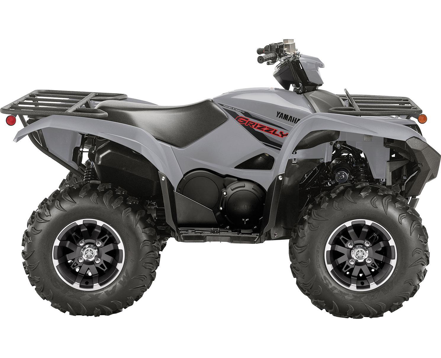 2021 Yamaha Grizzly EPS Armour Grey