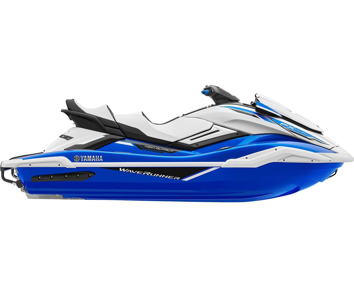 2021 Yamaha FX CRUISER HO Azure Blue/White