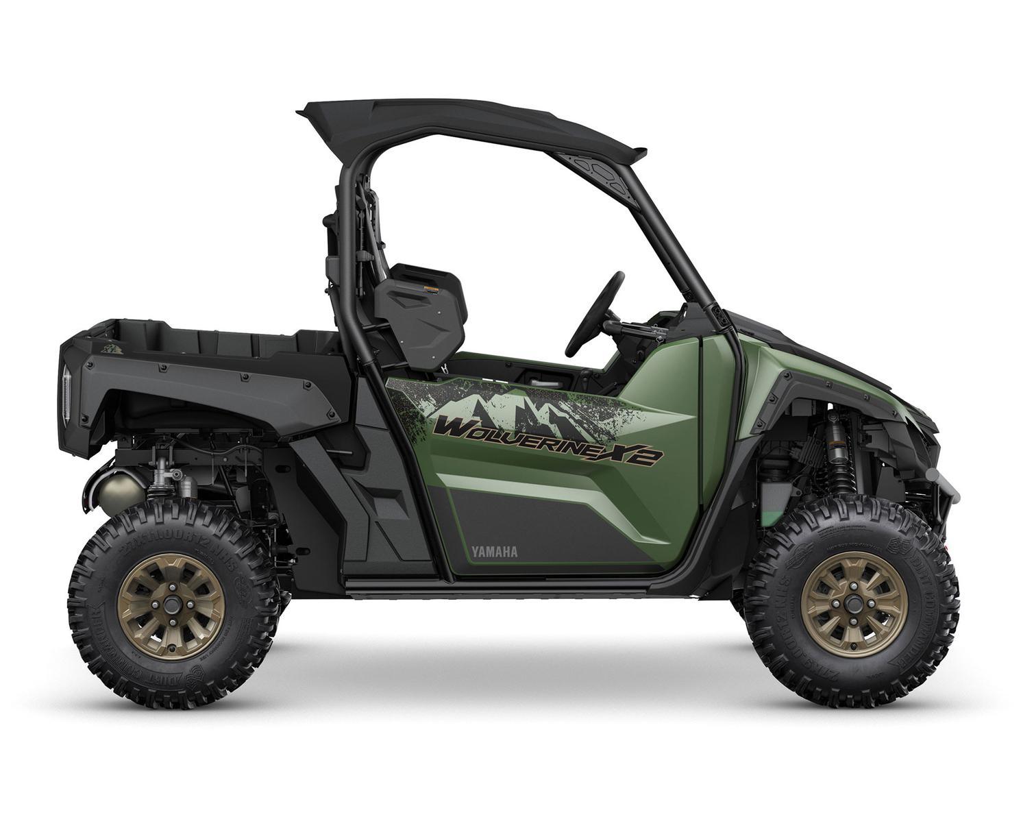 2021 Yamaha Wolverine X2 850 EPS SE Covert Green