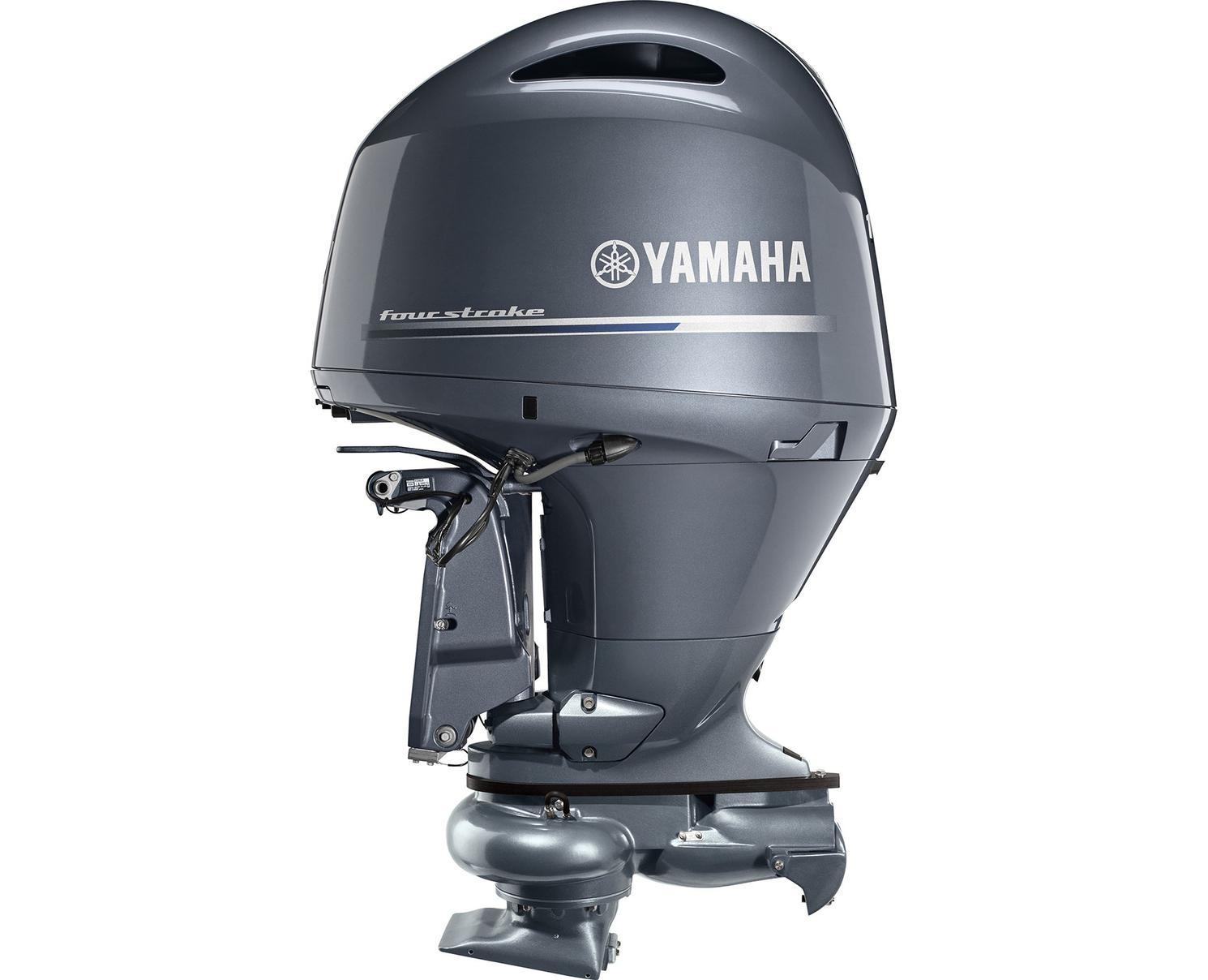 Yamaha F150 Jet Drive Bluish Gray Metallic