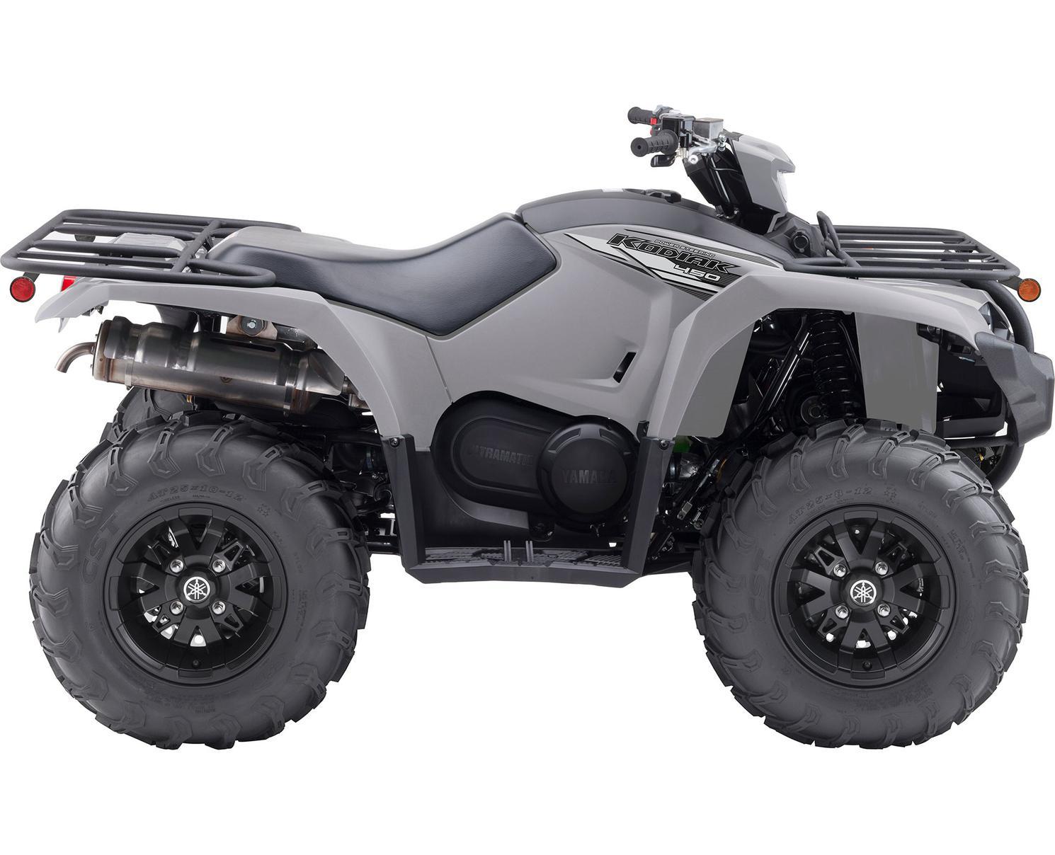 2021 Yamaha Kodiak 450 EPS SE Armour Grey