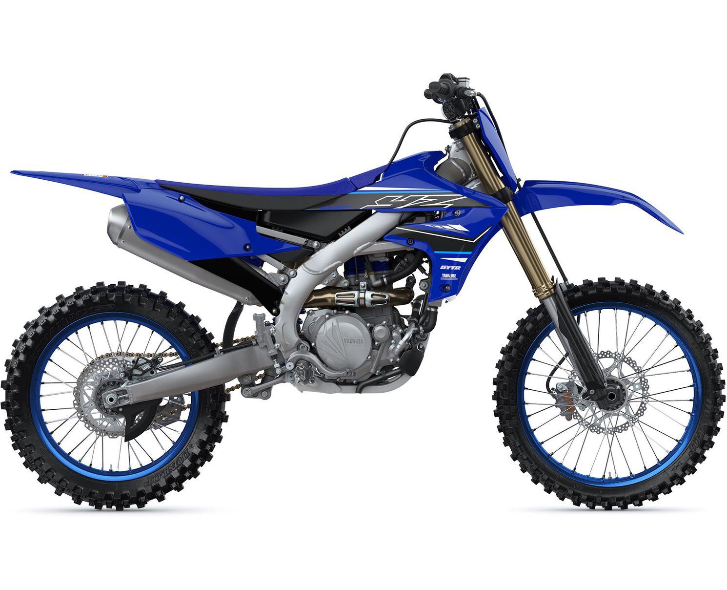 Yamaha YZ450F Bleu Yamaha De Compétition 2021