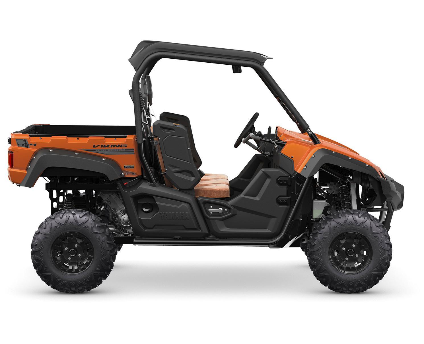 Yamaha Viking EPS SE Orange Tête De Cuivre Métallique 2021