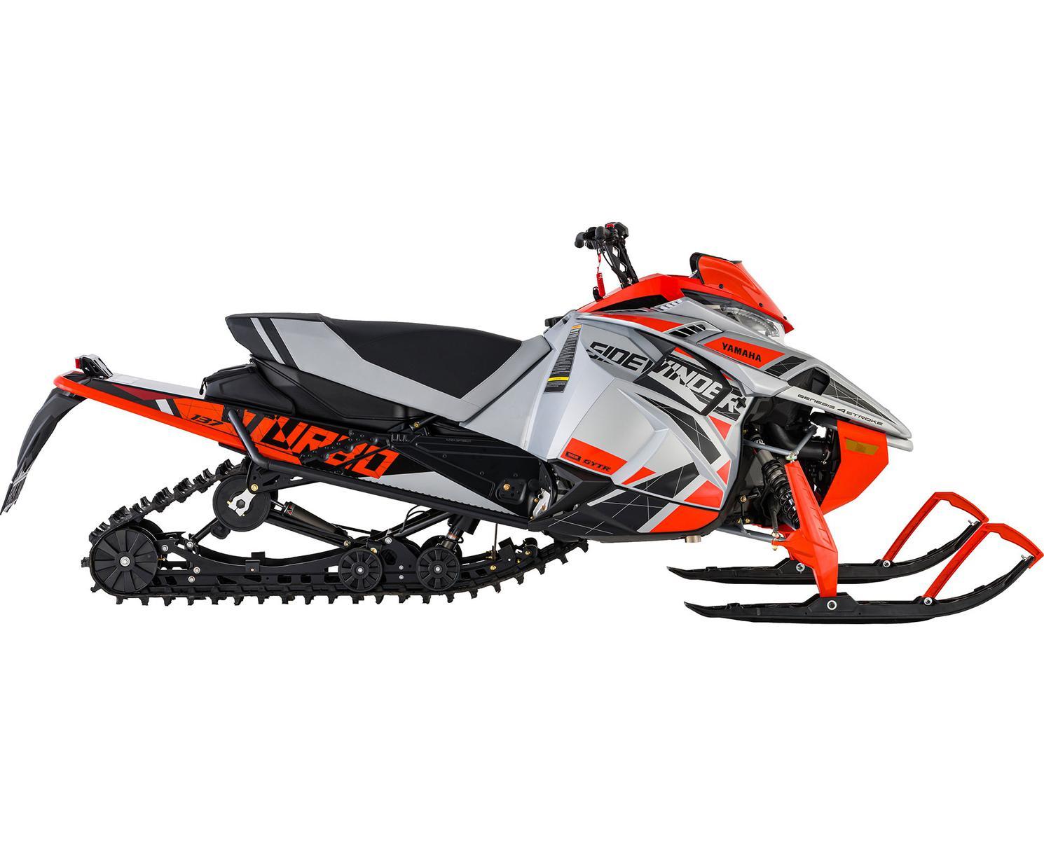 Yamaha Sidewinder L-TX SE  Argent/Orange 2021