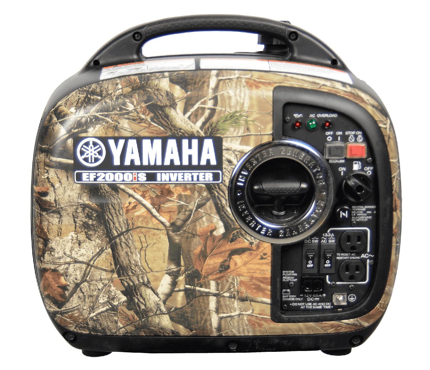 Yamaha Génératrices à inverseur EF2000IS Camo