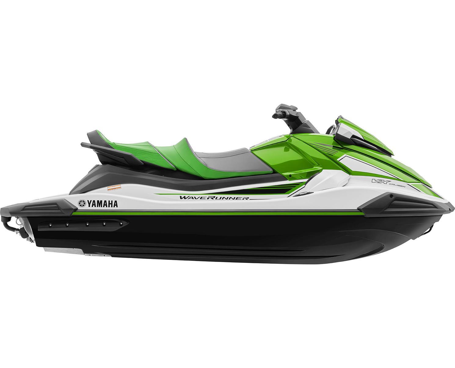 Yamaha VX CRUISER Blanc/Vert Citron 2021