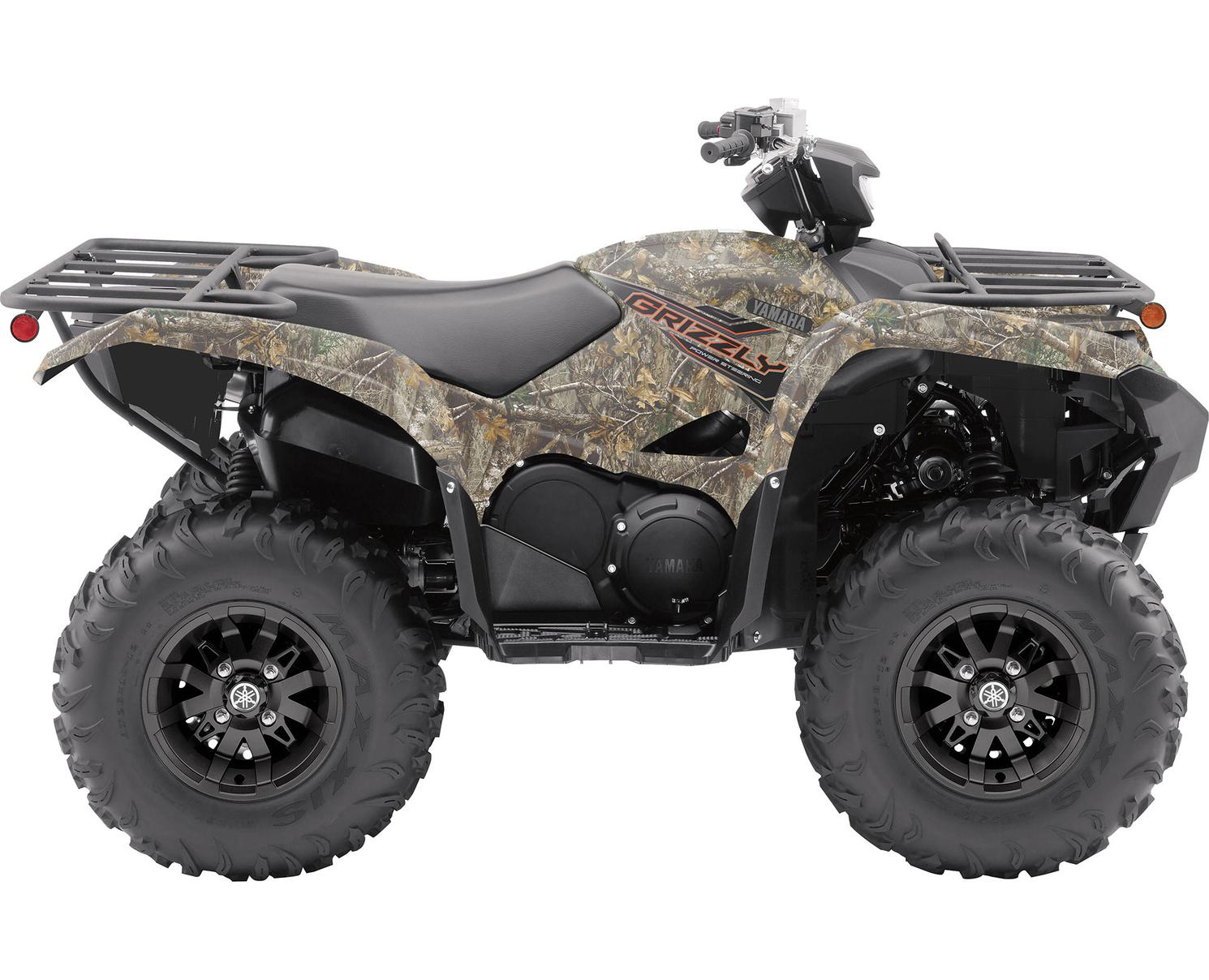 2021 Yamaha Grizzly EPS Realtree Edge Camouflage