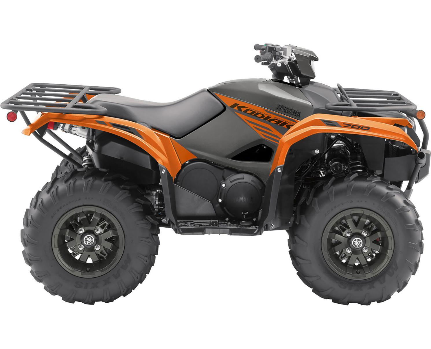 Yamaha Kodiak 700 EPS SE Orange Tête De Cuivre Métallique 2021