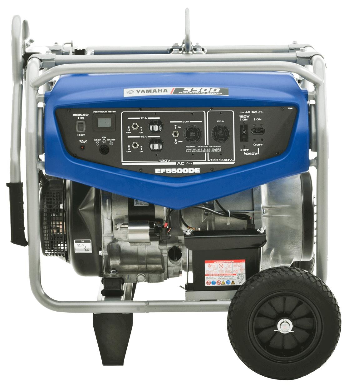 Yamaha EF5500DE Bleu