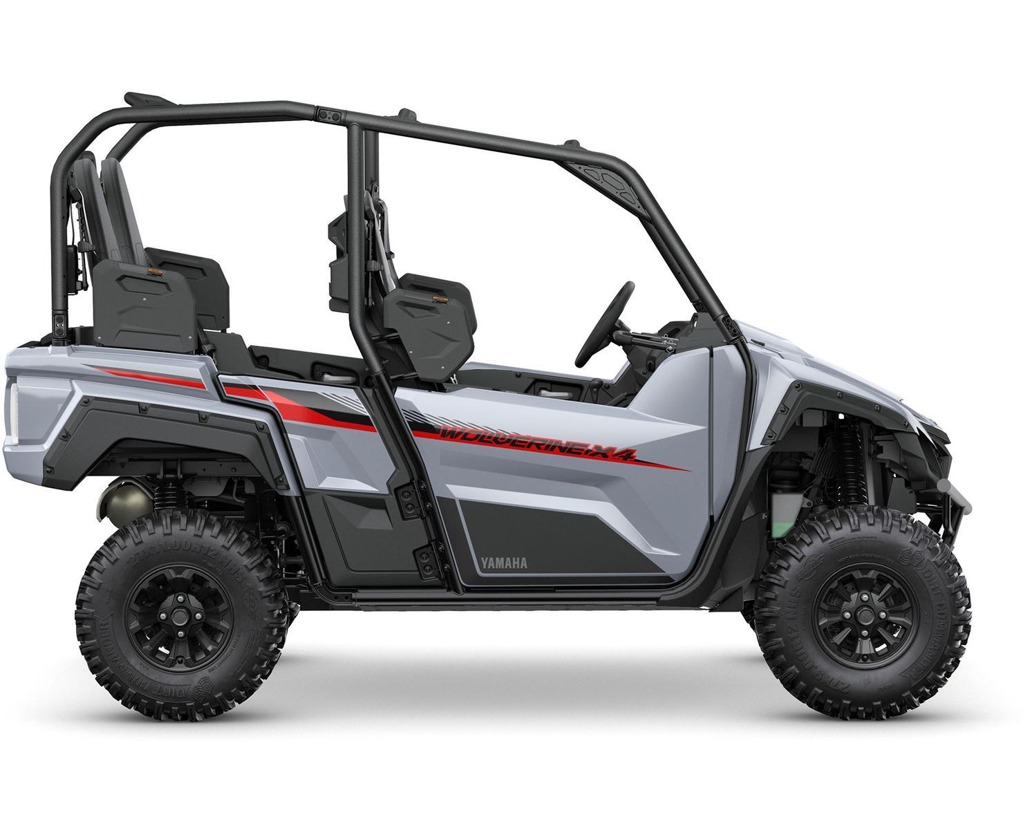 Yamaha Wolverine X4 à DAE Gris Blindé 2021