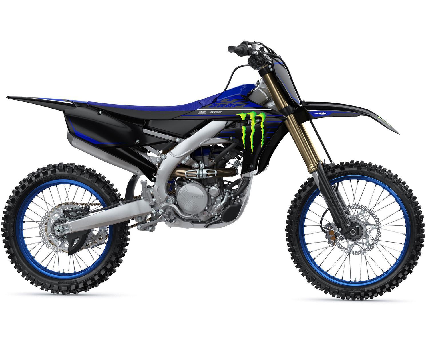 Yamaha YZ250F Motif Monster Energy Yamaha Racing 2021
