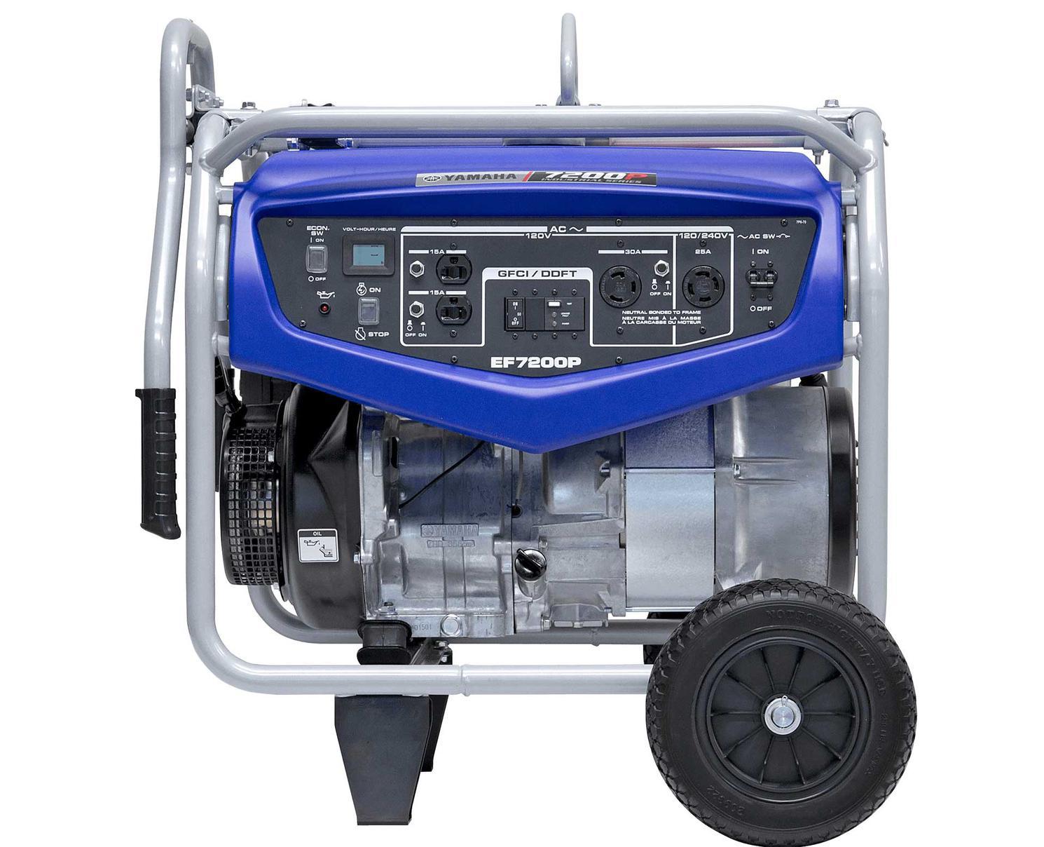 Yamaha EF7200P Bleu