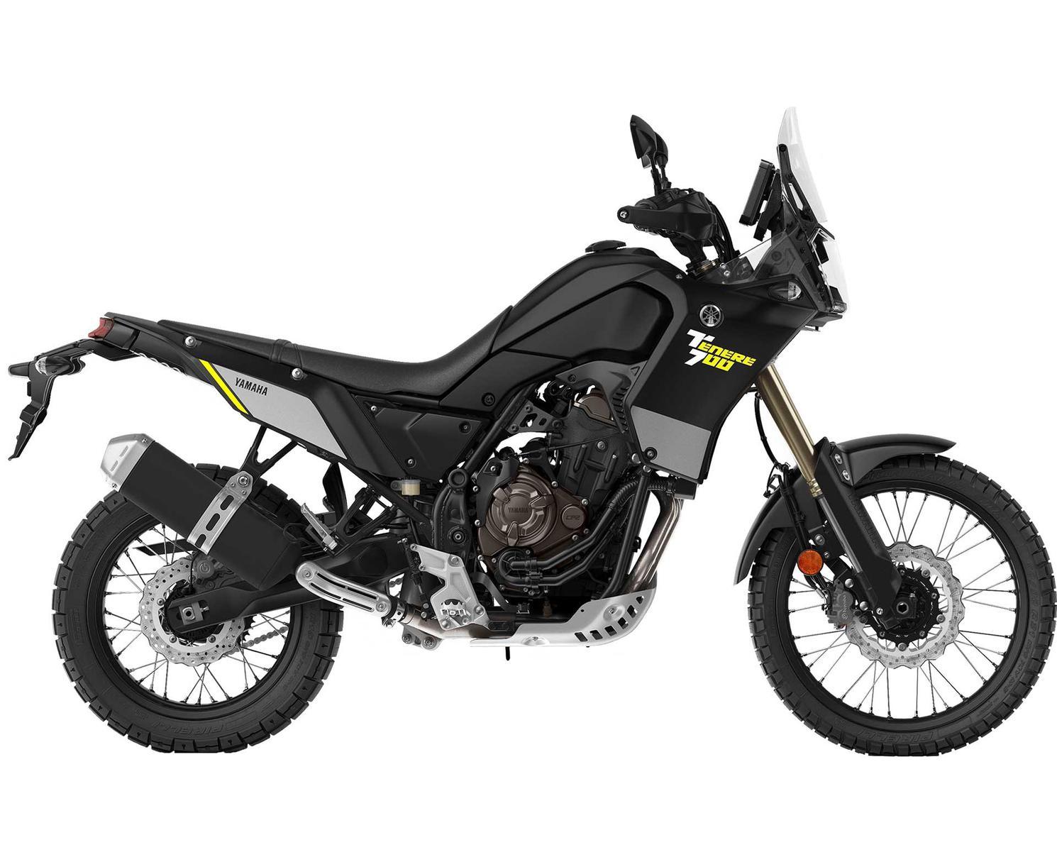 2021 Yamaha Ténéré 700 Matte Black
