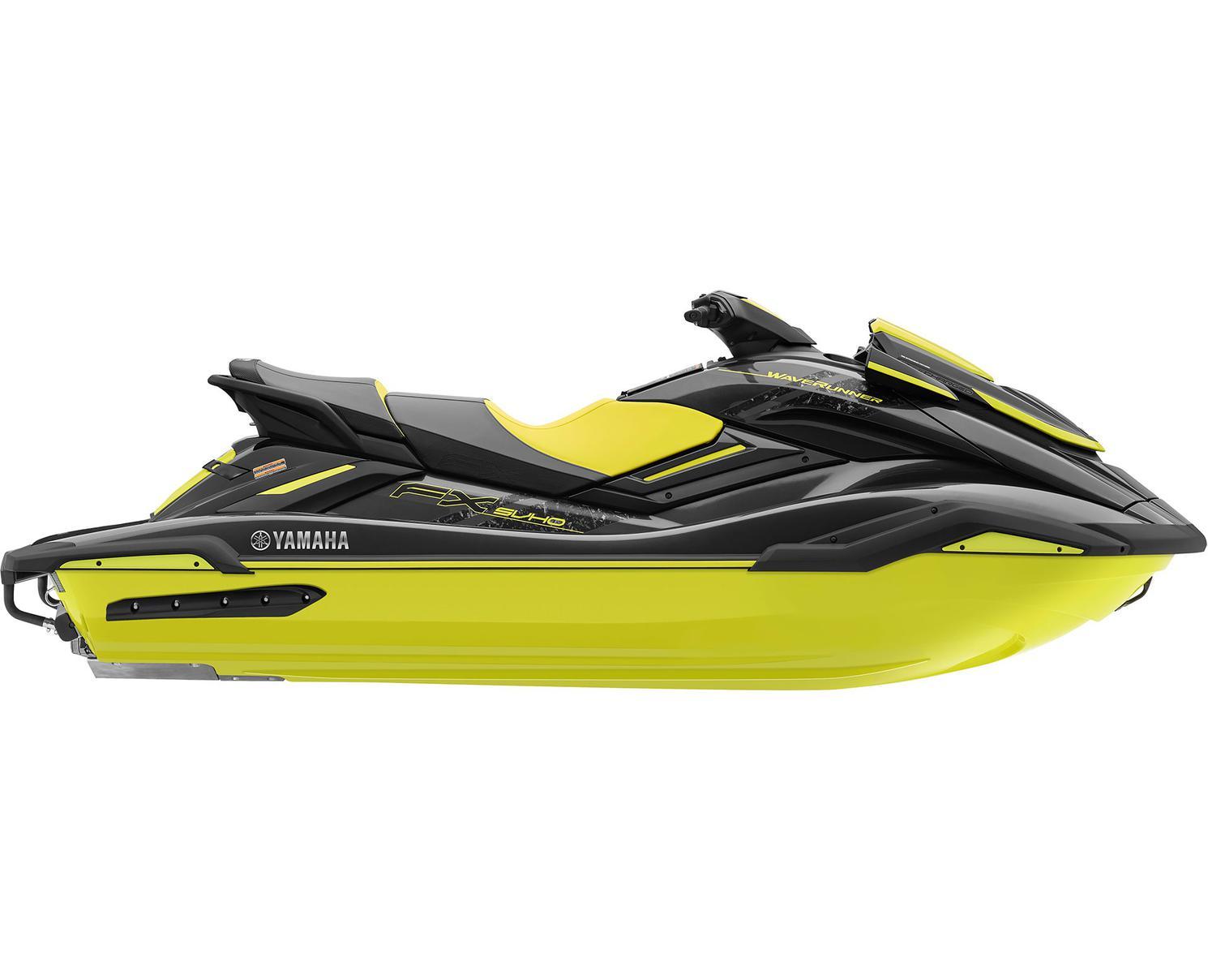 2021 Yamaha FX SVHO Carbon/Lime Yellow