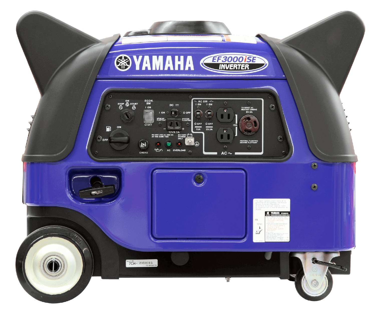 Yamaha EF3000ISE Blue