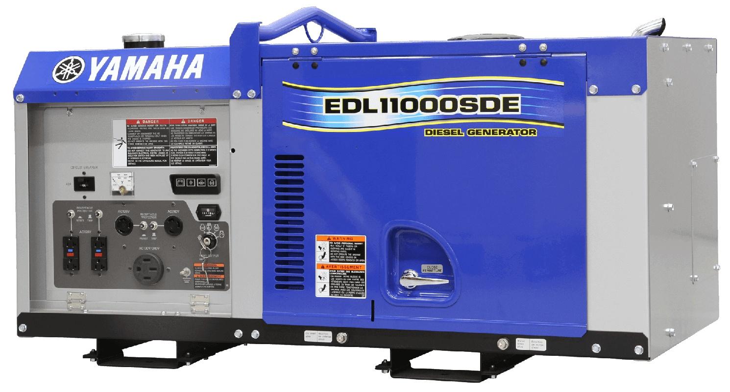 Yamaha Génératrices au diesel EDL11000SDE 2021