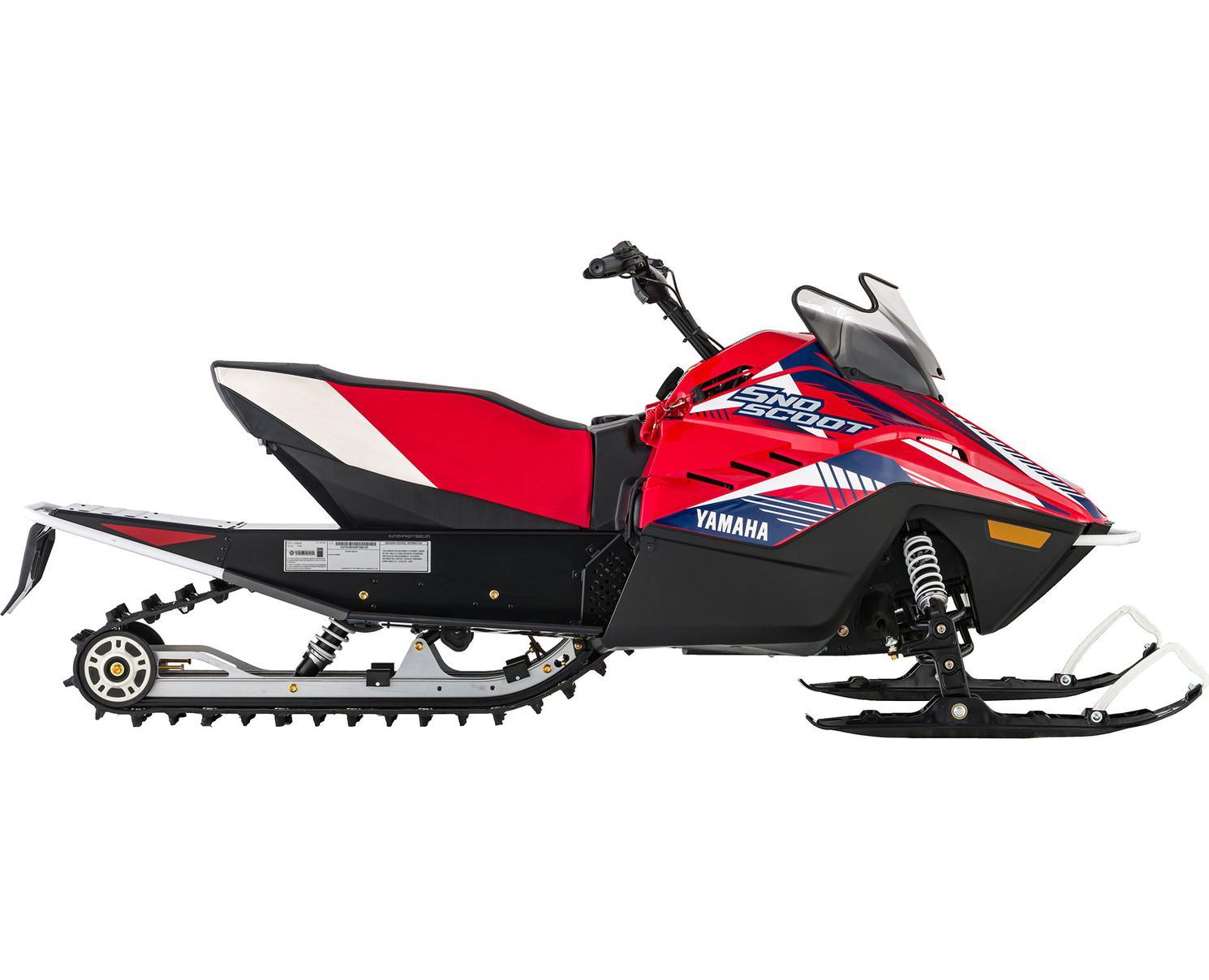 Yamaha Snoscoot ES Rouge/Bleu/Blanc 2021