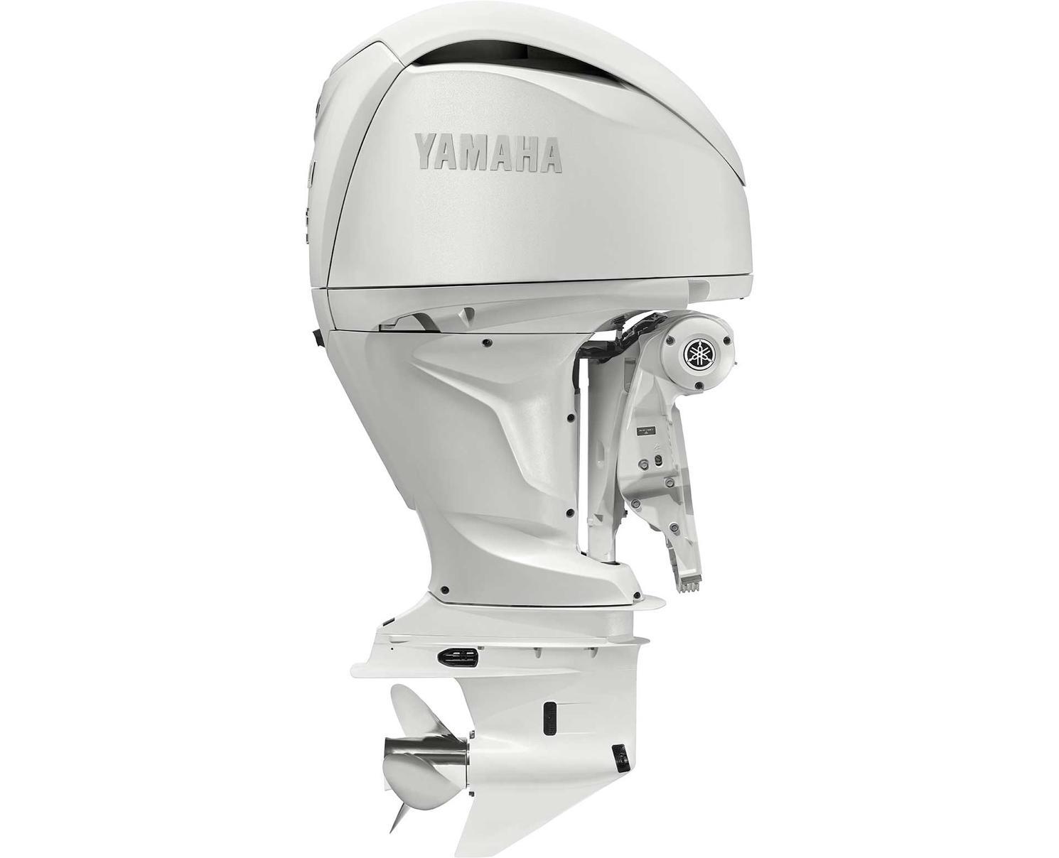 2021 Yamaha F250B White