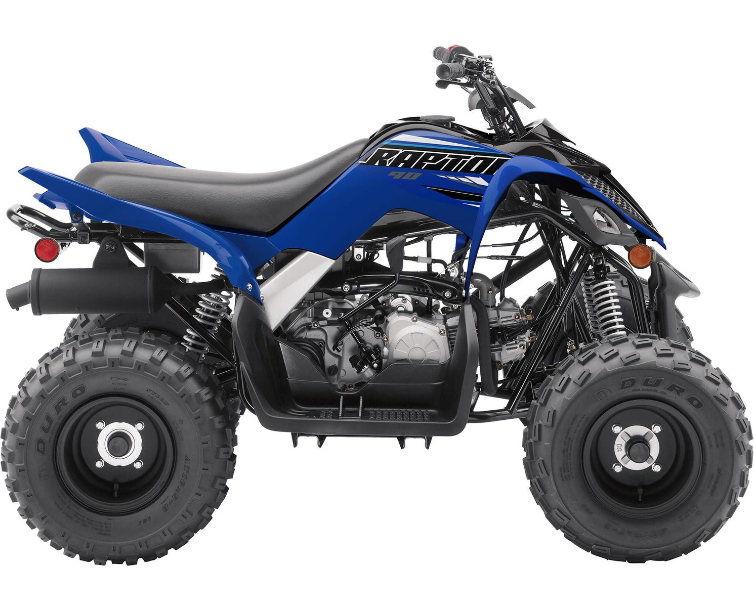 Yamaha Raptor 90 Bleu Yamaha De Compétition 2021