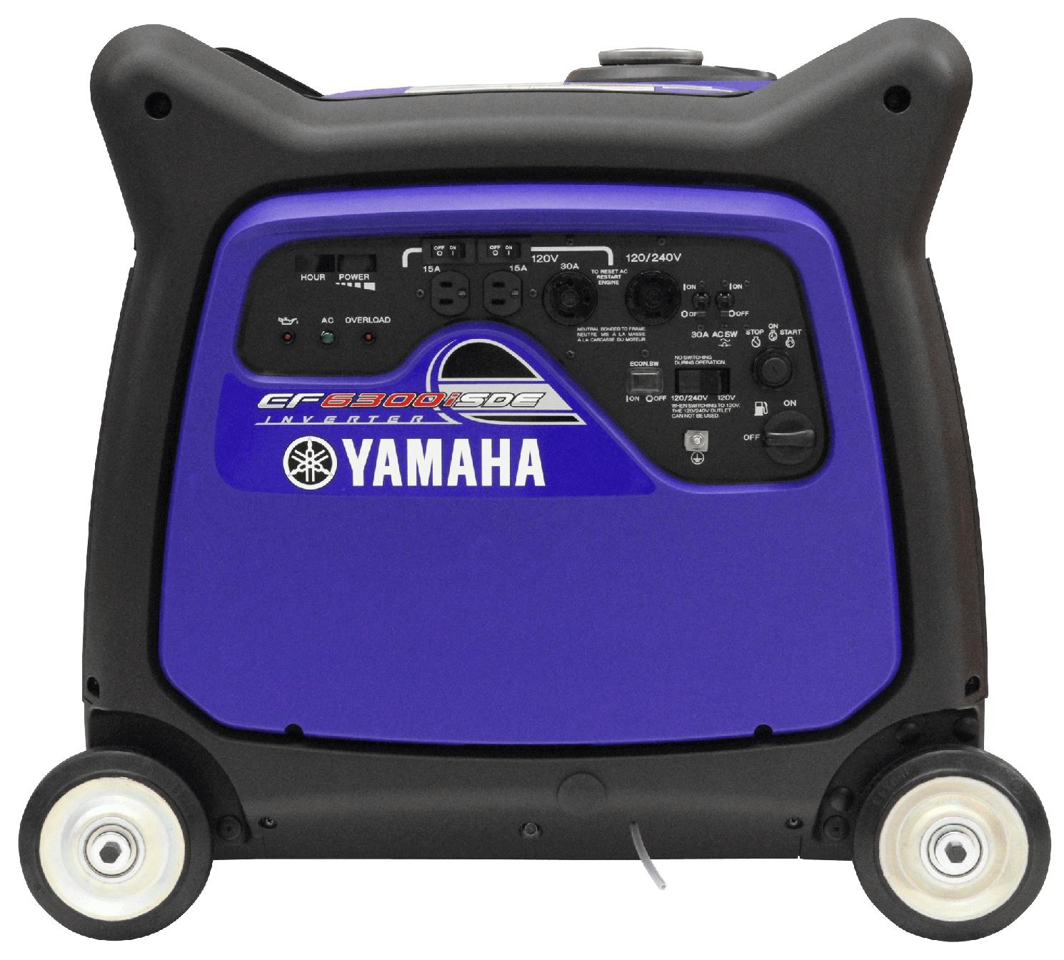 Yamaha EF6300ISDE Bleu