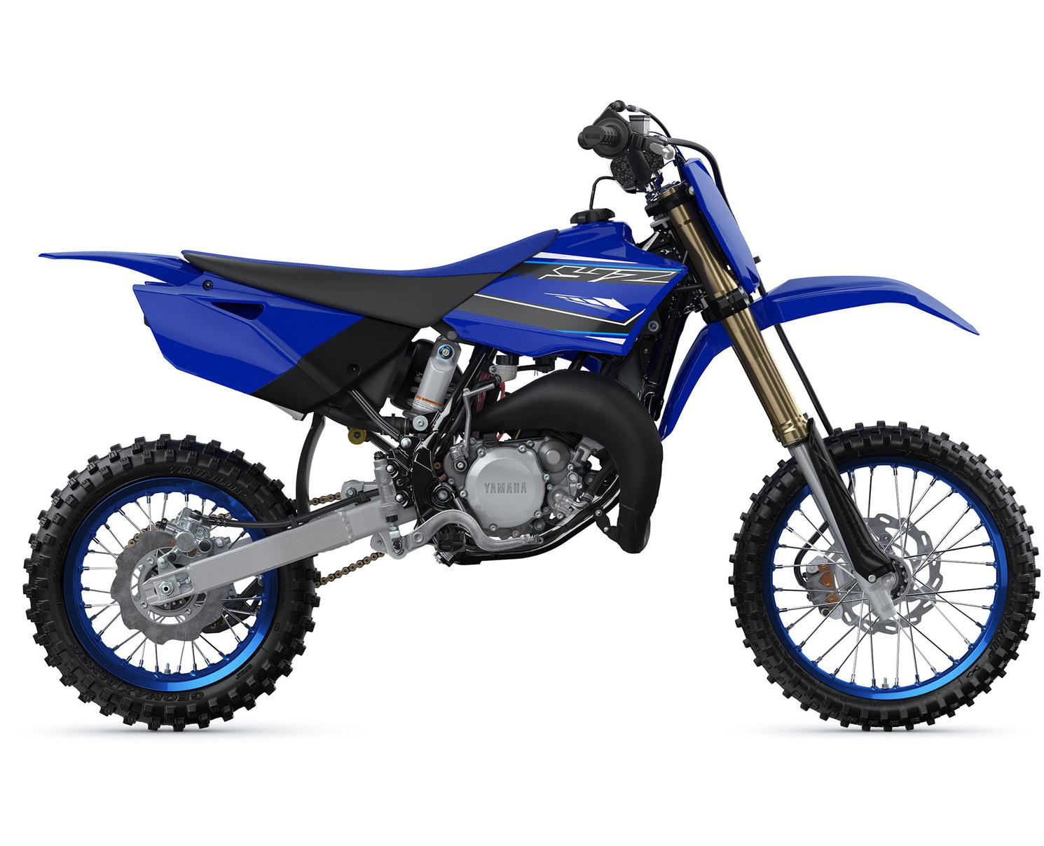 Yamaha YZ85 Bleu Yamaha De Compétition 2021