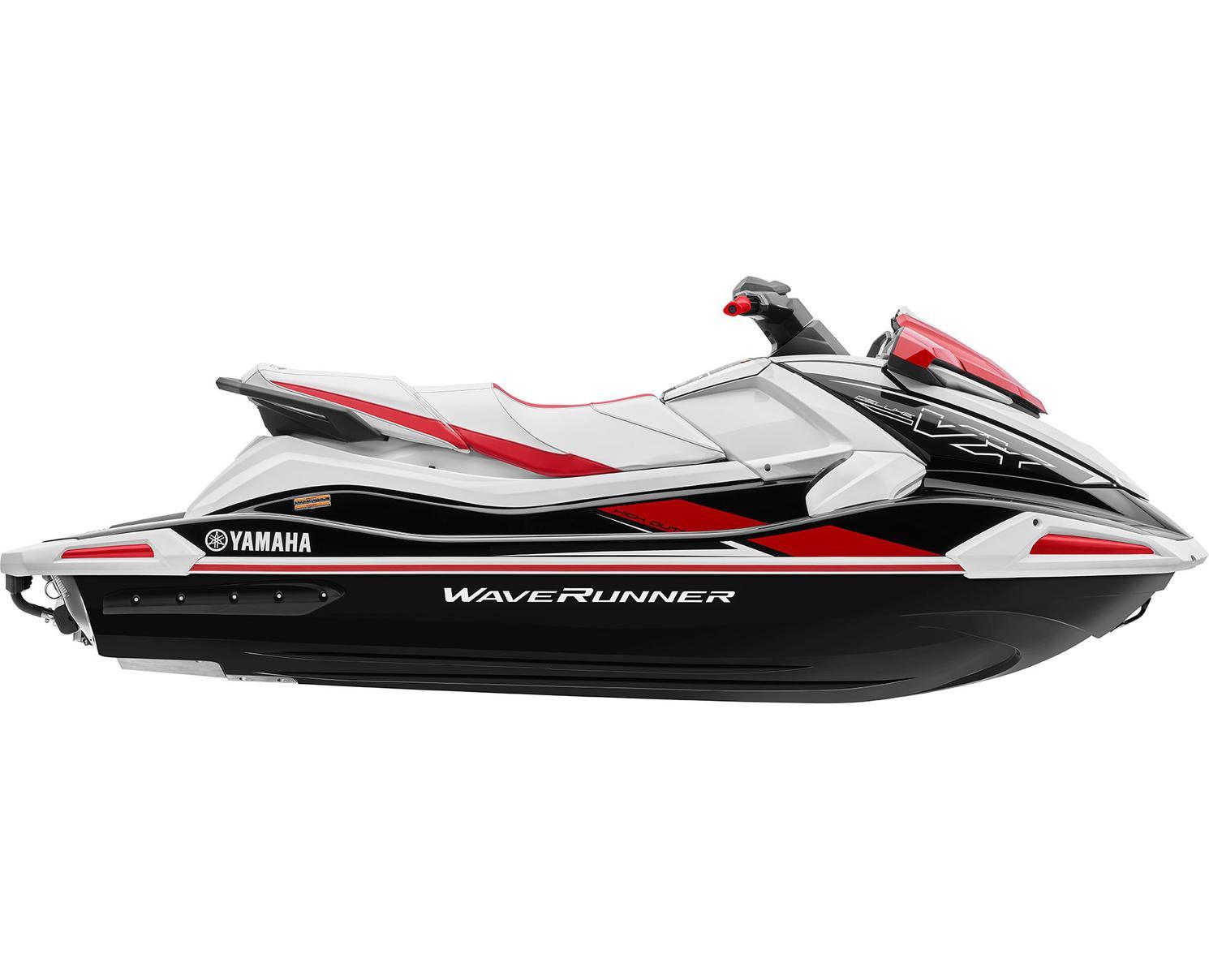 Yamaha VX DELUXE Noir/Rouge Flamme 2021