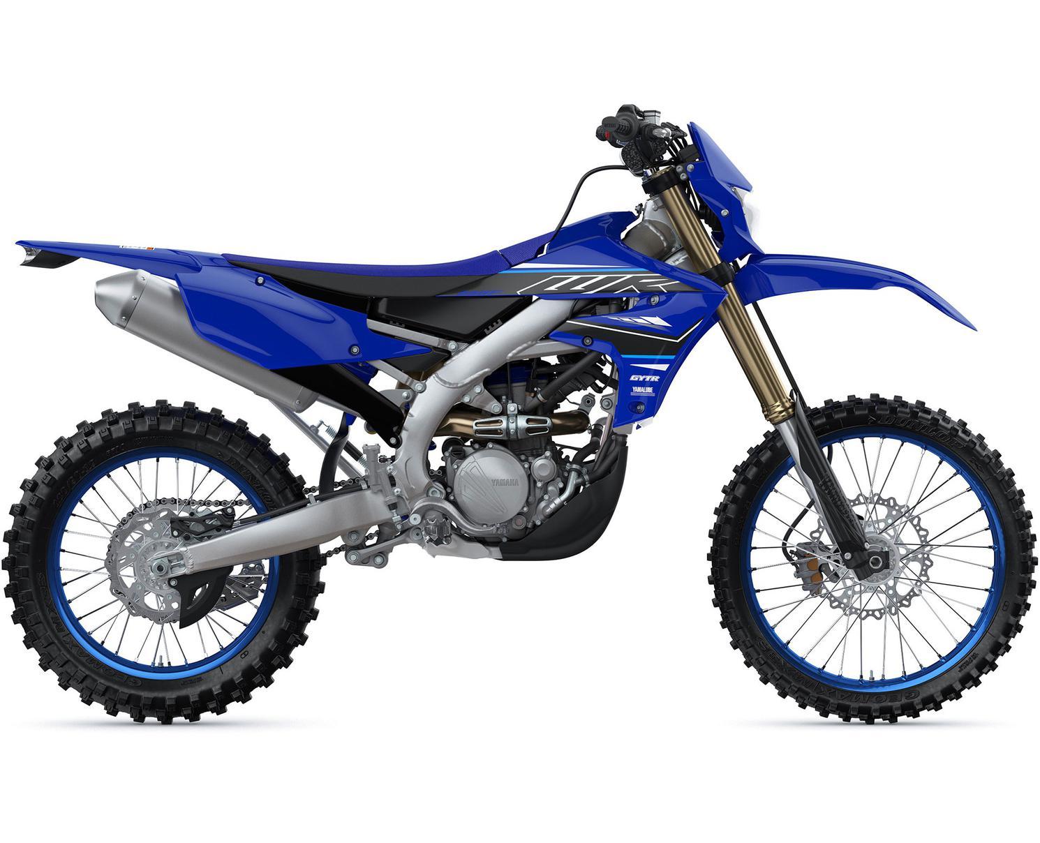 Yamaha WR250F Bleu Yamaha De Compétition 2021