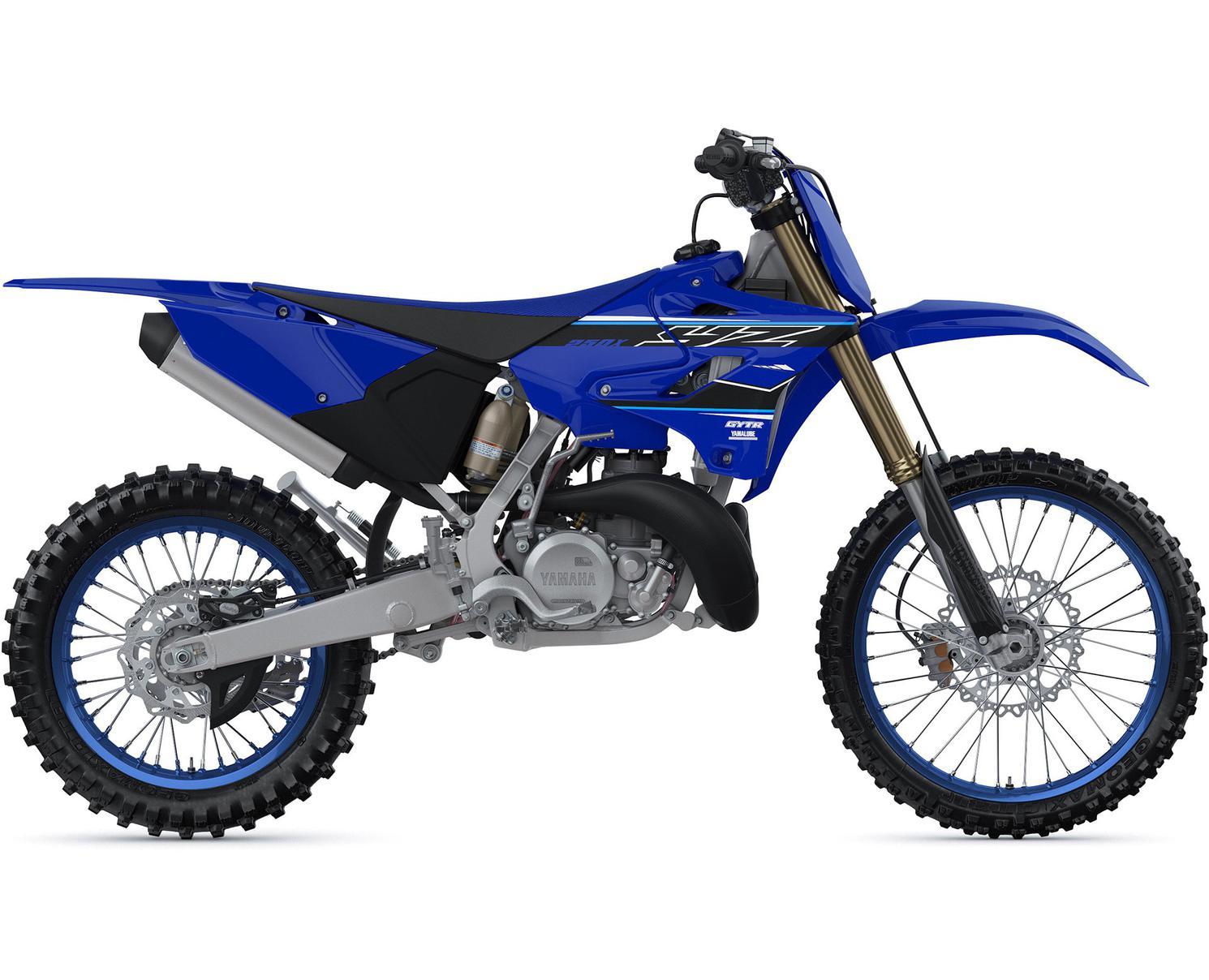 Yamaha YZ250X Bleu Yamaha De Compétition 2021