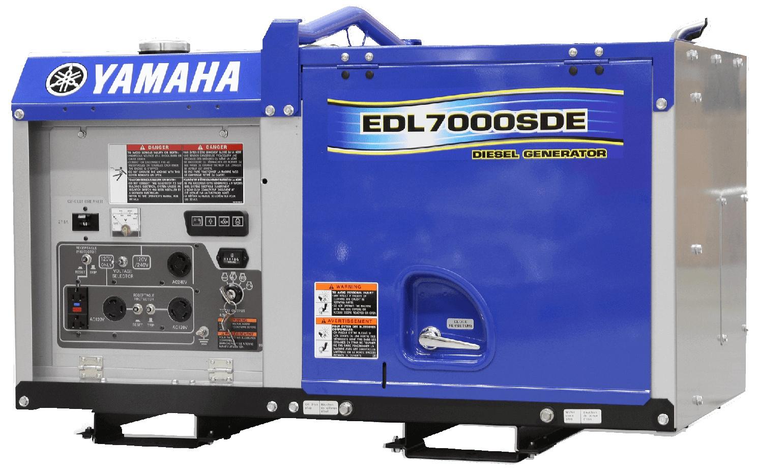 Yamaha Génératrices au diesel EDL7000SDE 2021