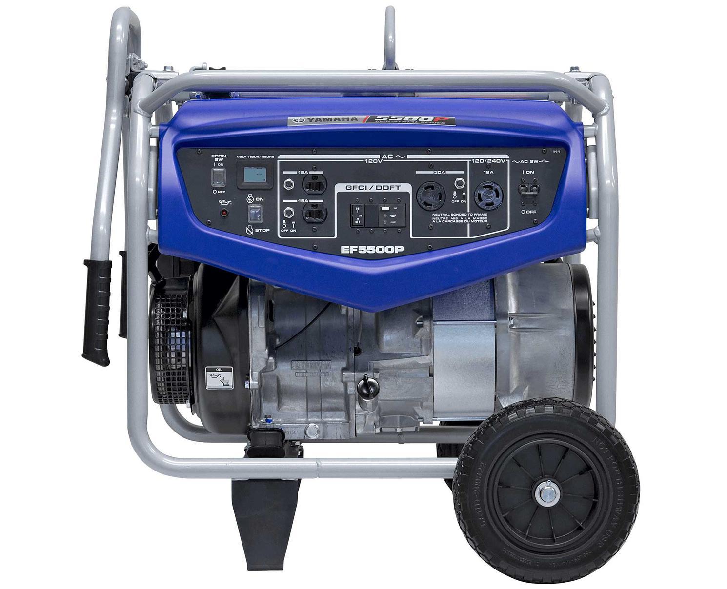 Yamaha EF5500P Blue