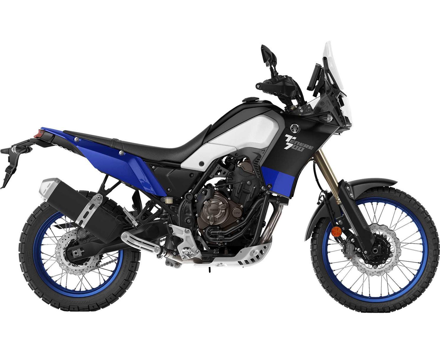2021 Yamaha Ténéré 700 Blue