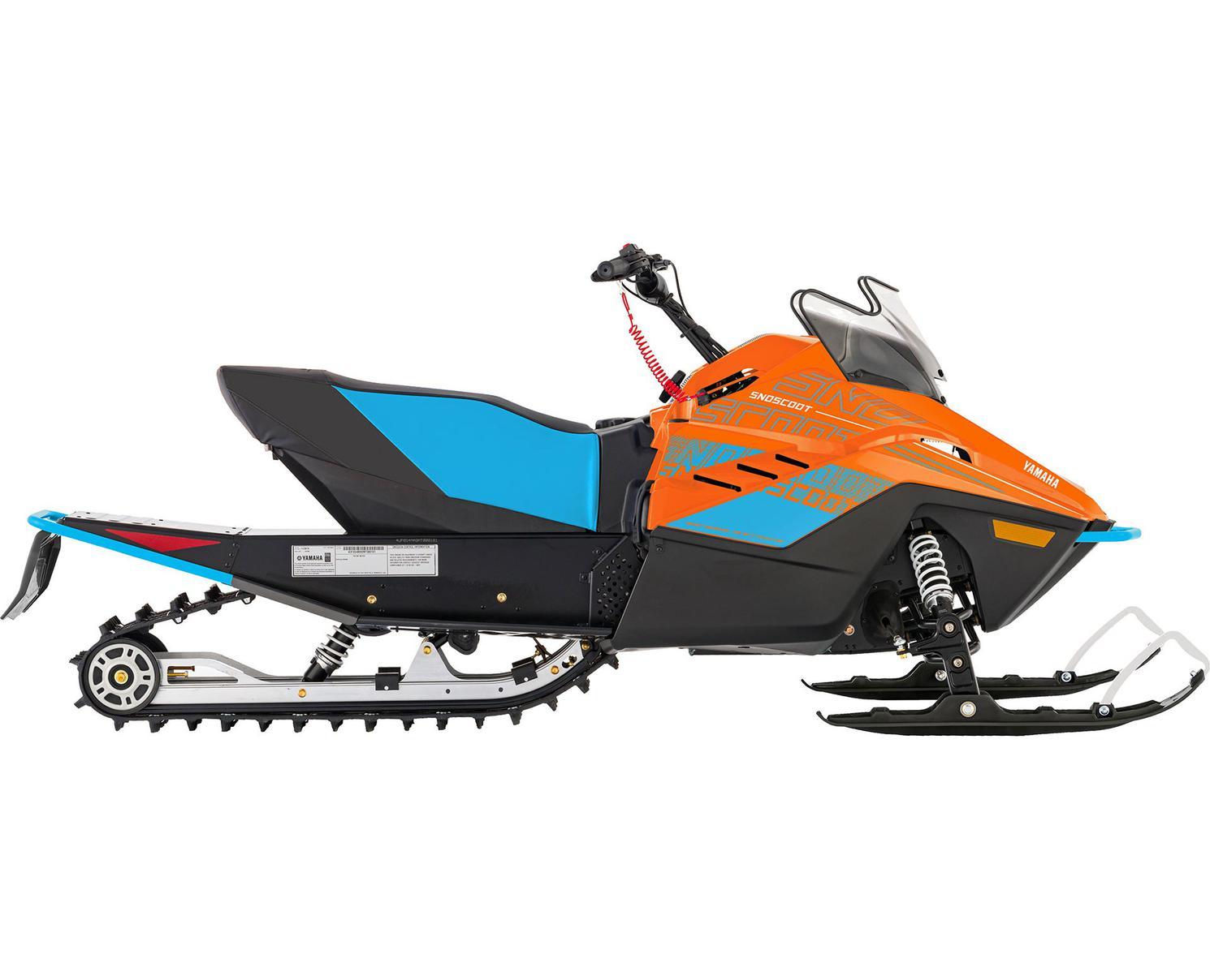 Yamaha Snoscoot ES Orange Vif/Bleu Jet Stream 2022