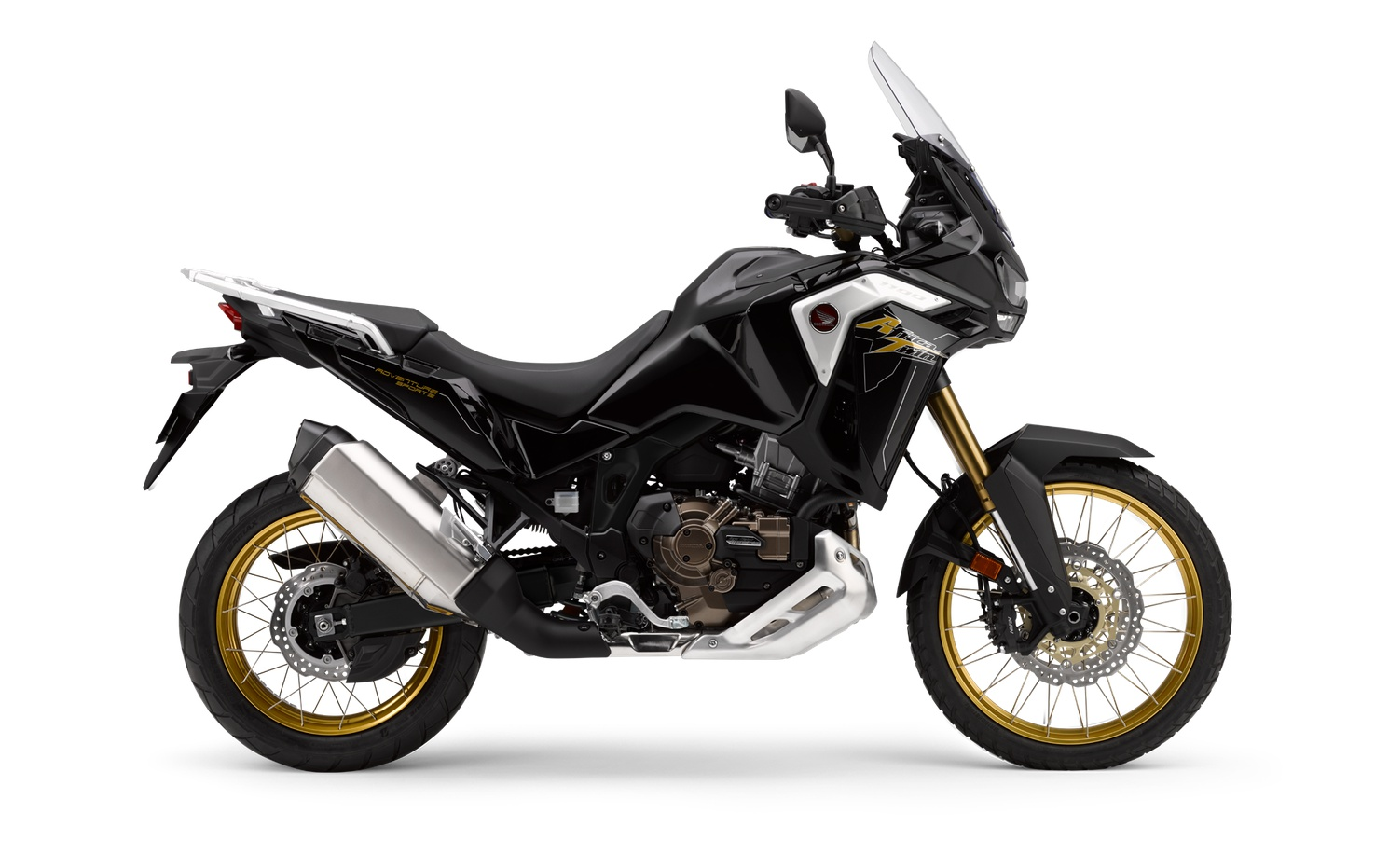 Honda Africa Twin Adventure Sports  Noir Obscur Métallique 2020
