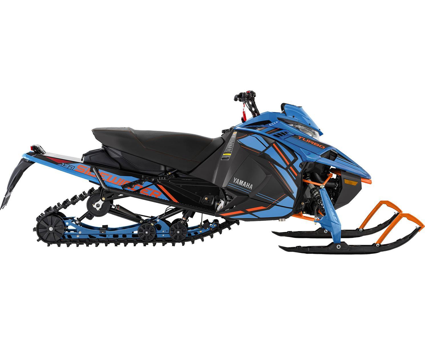 Yamaha Sidewinder L-TX SE Bleu Glacé/Orange Vif 2022