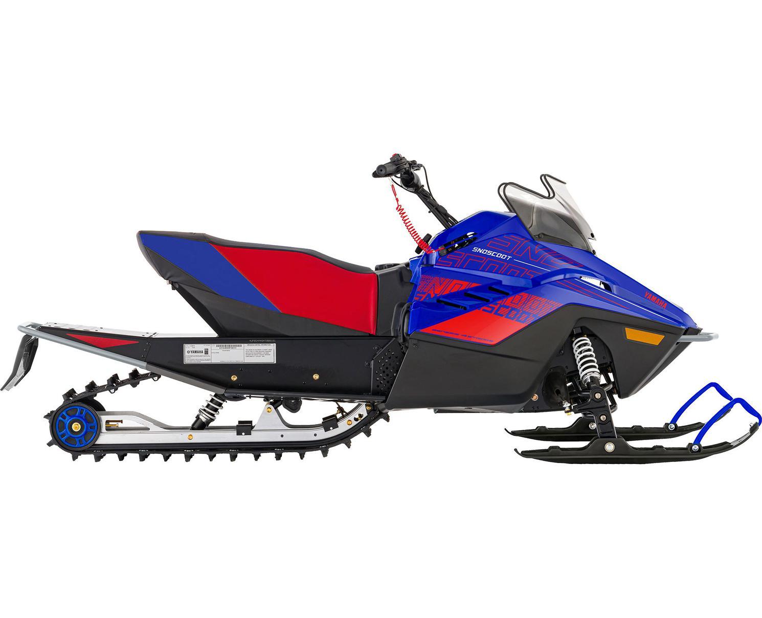 Yamaha Snoscoot ES Bleu Team Yamaha/Rouge 2022