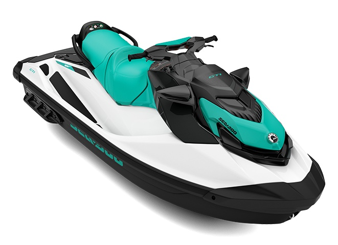 2021 Sea-Doo GTI 130 White / Reef Blue