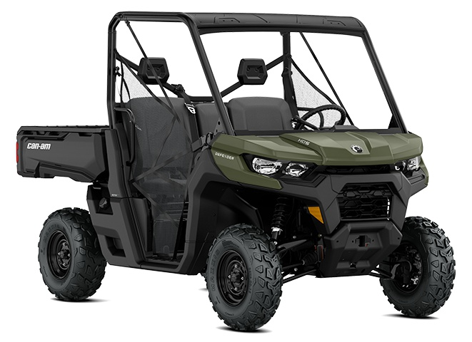 2021 Can-Am Defender HD8 Green