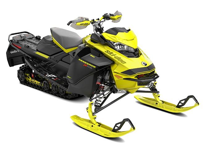 2022 Ski-Doo Renegade X-RS Rotax 850 E-TEC Sunburst Yellow / Black