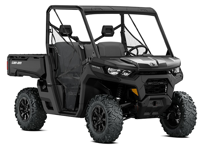 2021 Can-Am Defender DPS HD8 Timeless Black