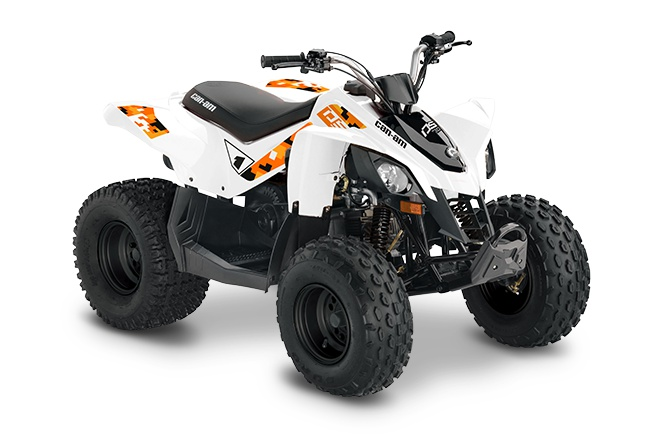 2021 Can-Am DS 70 White