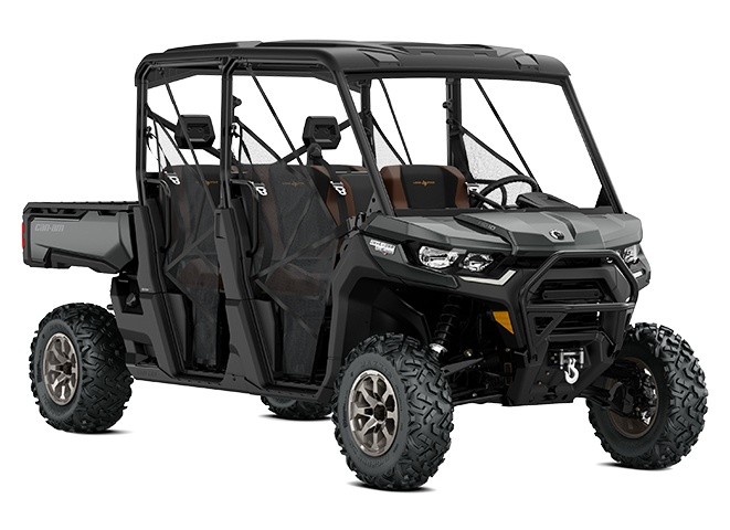 Can-Am Defender MAX Lone Star Gris pierre 2021