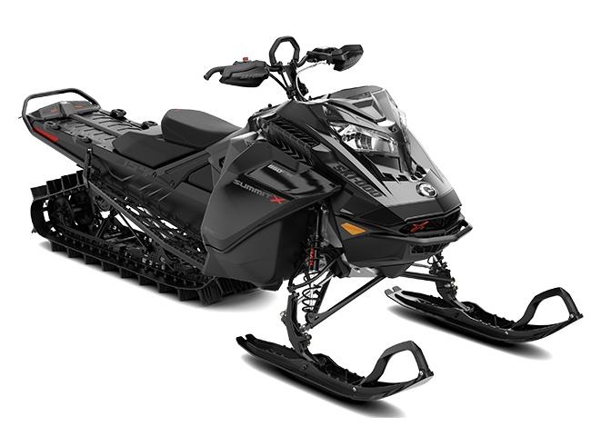 Ski-Doo Summit X with Expert Package Rotax 850 E-TEC Turbo Triple noir ultime 2022