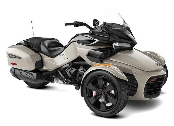 Can-Am Spyder F3-T Titane Liquide 2021