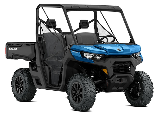 2021 Can-Am Defender DPS HD8 Oxford Blue