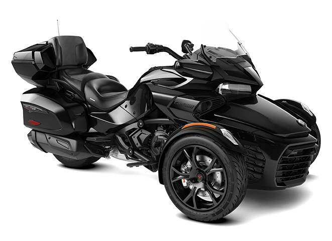 2021 Can-Am Spyder F3 Limited Glacial Blue Metallic