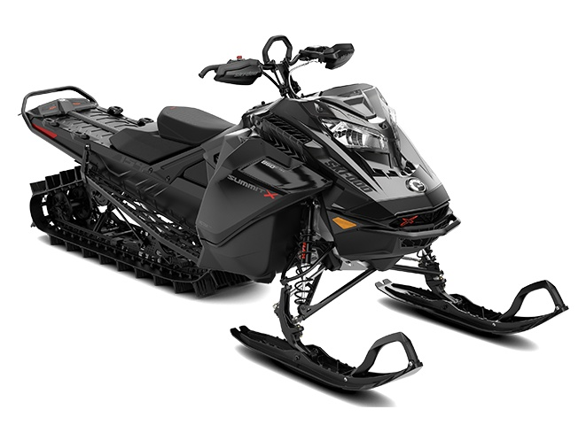 Ski-Doo Summit X with Expert Package Rotax 850 E-TEC Triple noir ultime 2022