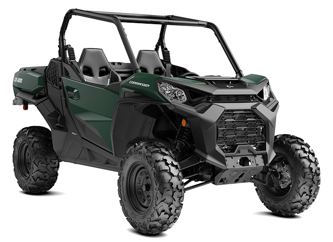 2021 Can-Am Commander DPS Tundra Green