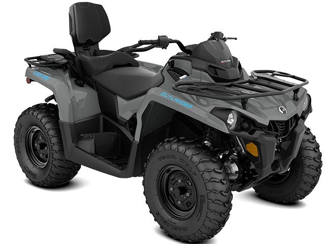 2021 Can-Am Outlander MAX DPS 450 Granite Gray