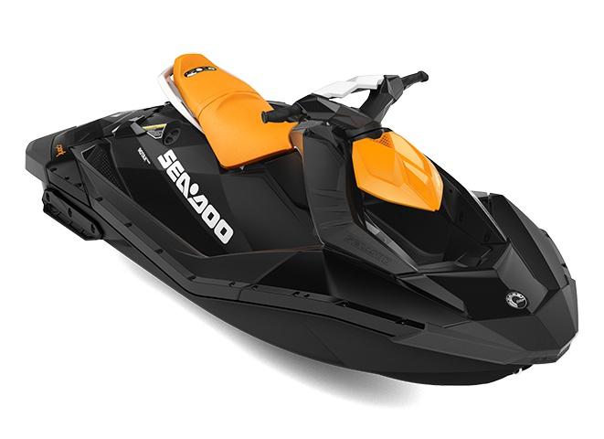 2021 Sea-Doo Spark 2 up  Orange Crush / Deep Black